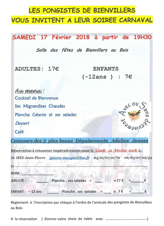 amicale-pongistes-bienvillers-carnaval-2018