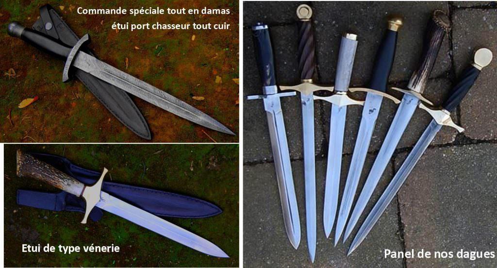 dagues de chasse